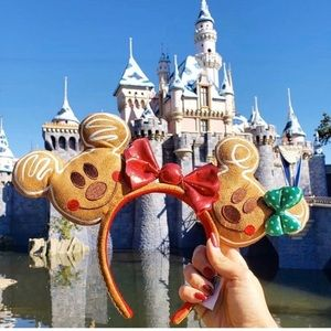 New Disney Gingerbread headband